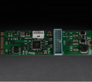 Плата расширения Frime M2 (M&B Key) to 2 x USB3.0, NEC720201