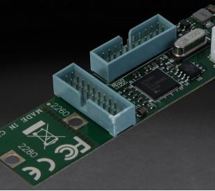 Плата расширения Frime M2 (M&B Key) to 4 x USB3.0, NEC720201