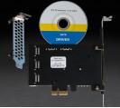 Плата расширения Frime PCI-E x1 to 8 x Sata III, 88SE9215