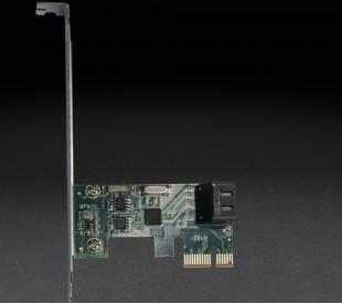 Плата расширения Frime PCI-E x1 to 2 x SataIII 2 внутр. канала, ASM1061