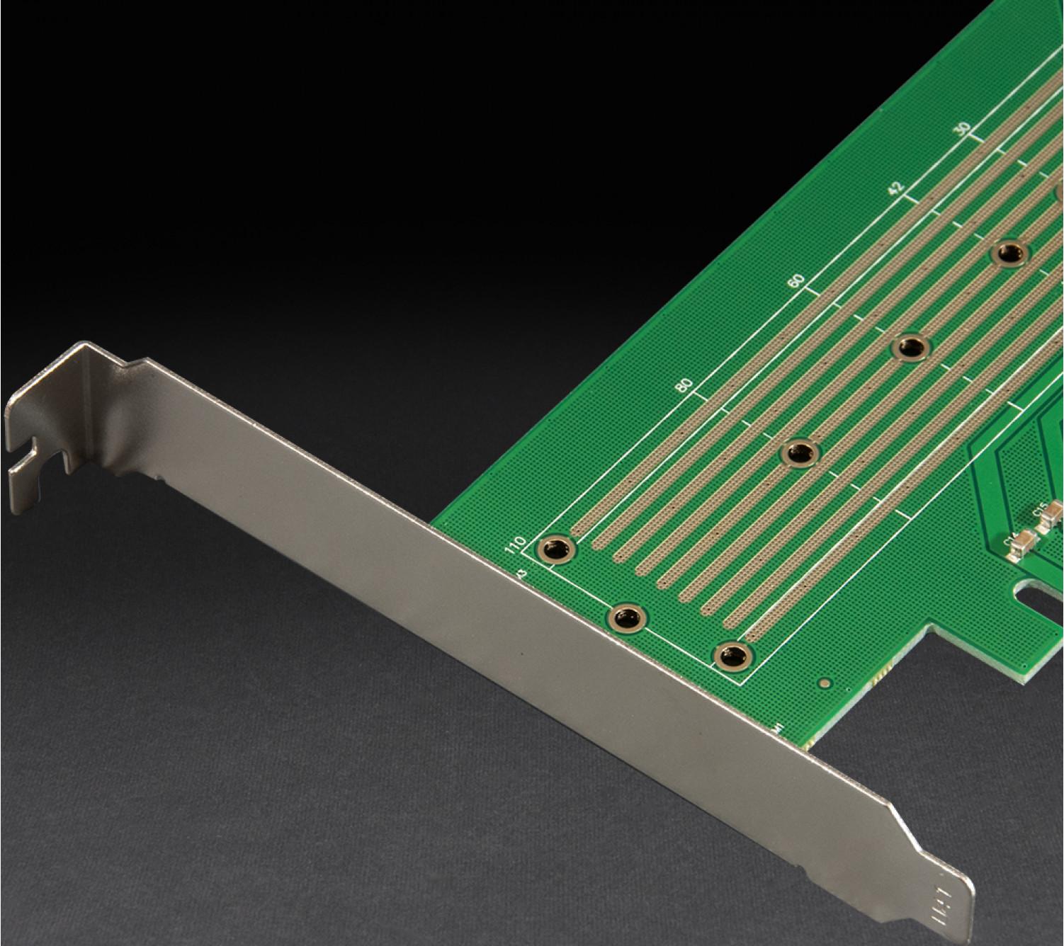 Адаптер Frime PCI-E x4/x8/x16 to M.2 (M Key) NVMe