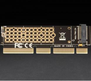 Адаптер Frime PCI-E x4x8x16 to M.2 (M Key)
