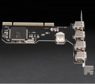 Плата расширения Frime PCI to USB2.0 (4+1 порти) NEC720201 (ECF-PCItoUSB002)