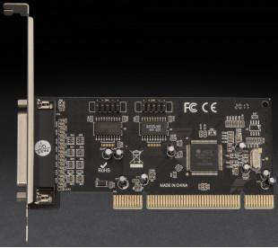 Плата расширения Frime PCI to RS232+LPT (2 порта RS232 + 1порт LPT), MCS9865