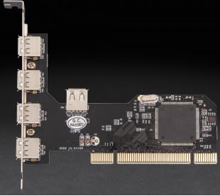 Плата расширения Frime PCI to USB2.0 (4+1 порти) NEC720201
