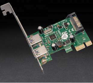 Плата расширения Frime PCI-E to USB3.0 (2 порти) NEC720202 (ECF-PCIEtoUSB004.LP)