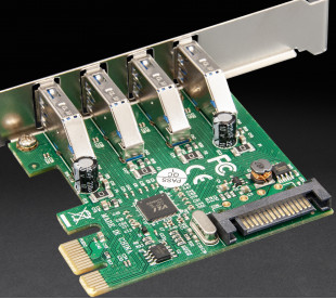 Плата расширения Frime PCI-E to USB3.0 (4 порти) VIA VL805 (ECF-PCIEtoUSB008.LP)