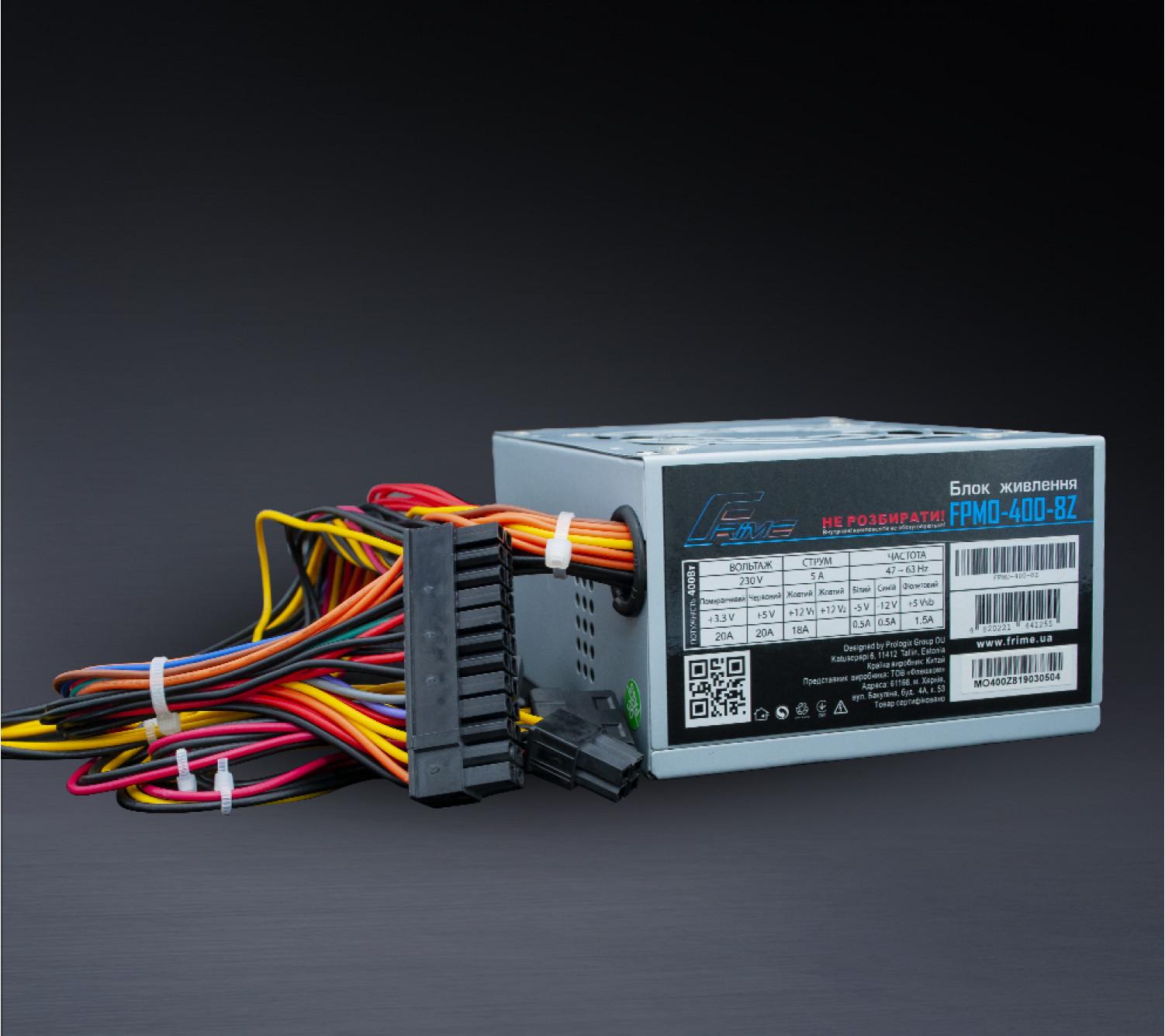 Блок Питания Frime Micro-ATX FPMO-400-8Z