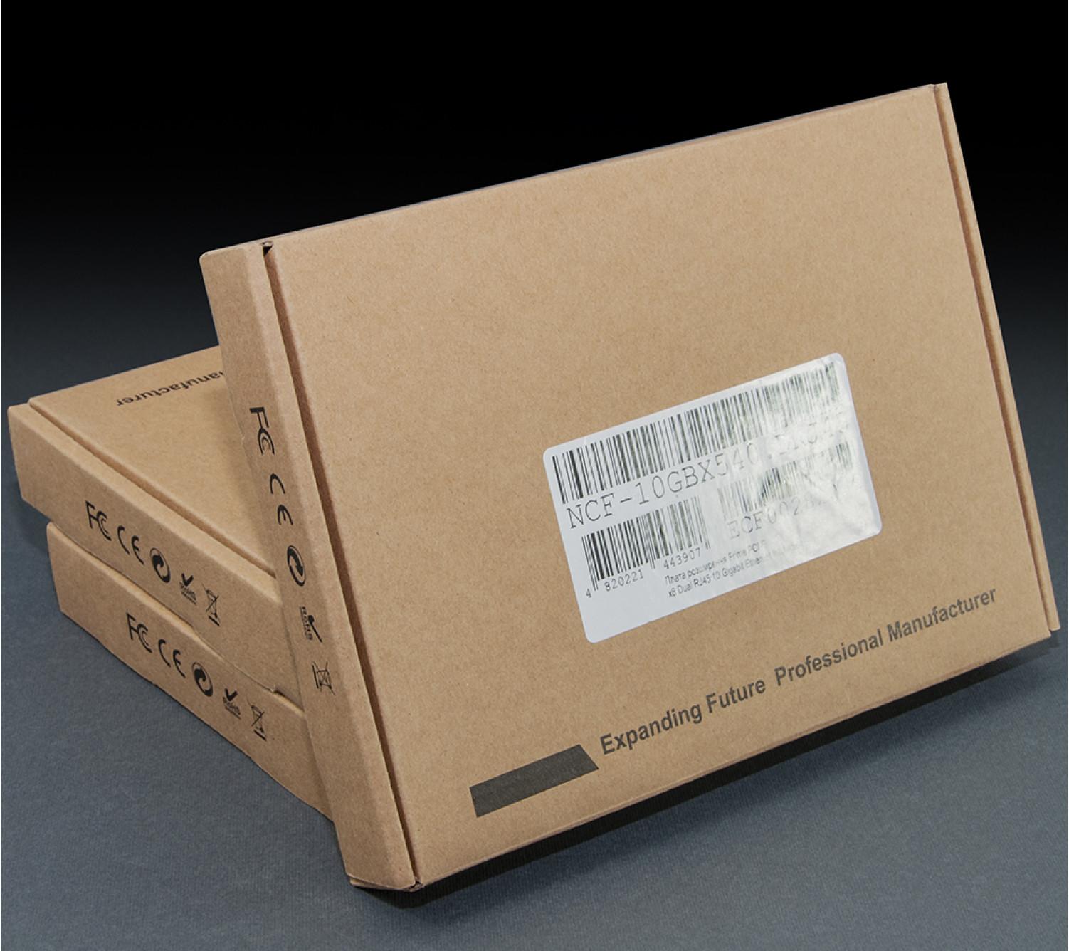 Сетевая карта Frime PCI-E x8 Dual RJ45 10 Gigabit Ethernet Intel X540 (NCF-10GbX540.DRJ45)