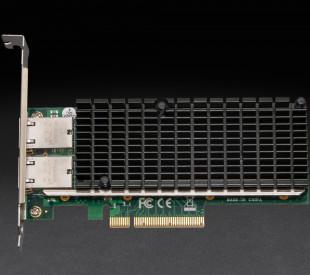 Сетевая карта Frime PCI-E x8 Dual RJ45 10 Gigabit Ethernet Intel X540
