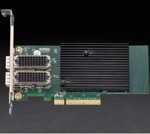 Сетевая карта Frime PCI-E x8 Dual SFP+ 10 Gigabit Ethernet Intel XL710