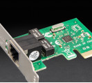 Сетевая карта Frime PCI-E x1 Gigabit Ethernet RTL8111F (NCF-GbLanRTL01.LP)