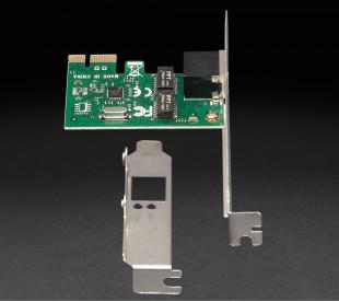 Сетевая карта Frime PCI-E x1 Gigabit Ethernet RTL8111F