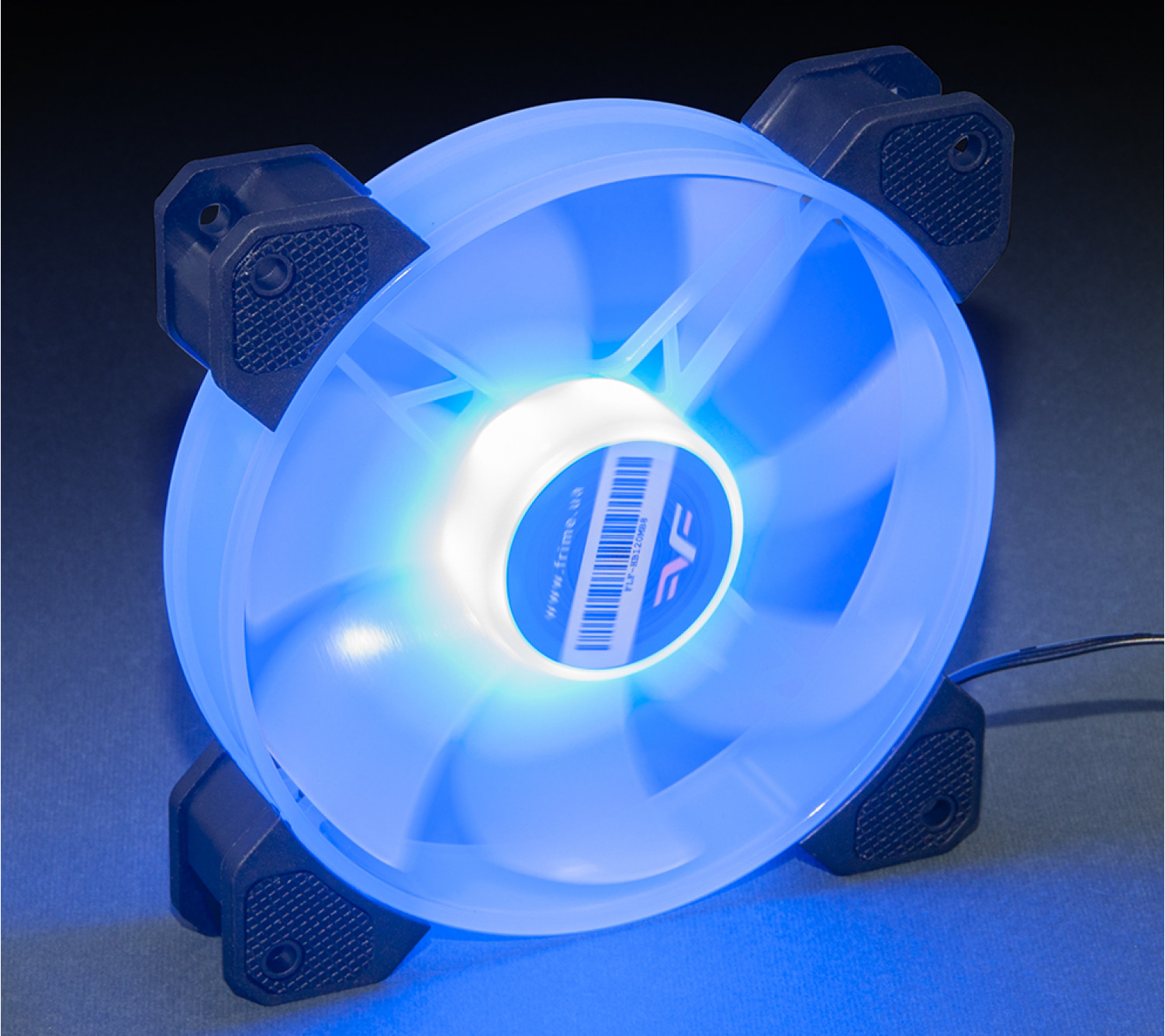 Вентилятор Frime Iris LED Fan Mid Blue