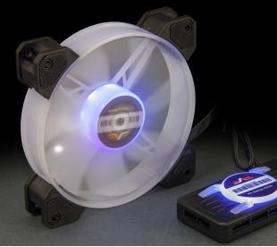 Вентилятор Frime Iris LED Fan Mid RGB HUB