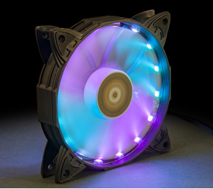Вентилятор Frime Iris LED Fan 16LED RGB HUB