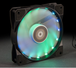 Вентилятор Frime Iris LED Fan 16LED RGB HUB-2