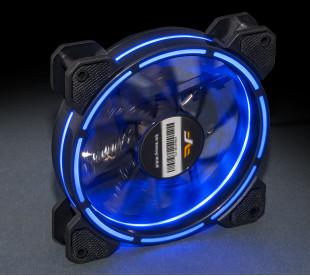 Вентилятор Frime Iris LED Fan Think Ring Blue