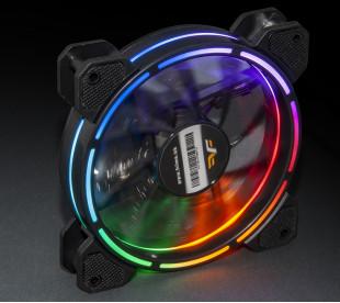 Вентилятор Frime Iris LED Fan Think Ring Multicolor