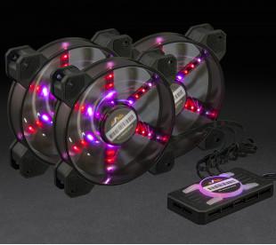 Набор RGB-вентиляторов Frime Iris Flicker KIT (3шт)